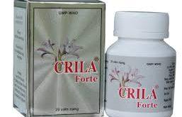 Thuốc crila forte là thuốc gì? có tác dụng gì? giá bao nhiêu tiền?