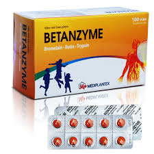 Thuốc betanzyme là thuốc gì? có tác dụng gì? giá bao nhiêu tiền?