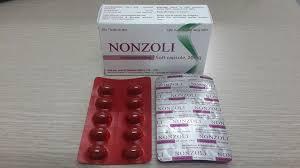 Thuốc nonzoli 20mg là thuốc gì? có tác dụng gì? giá bao nhiêu tiền?