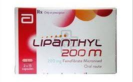 Thuốc lipanthyl 200m là thuốc gì? có tác dụng gì? giá bao nhiêu tiền?