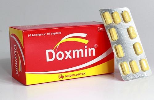 Thuốc doxmin là thuốc gì? có tác dụng gì? giá bao nhiêu tiền?