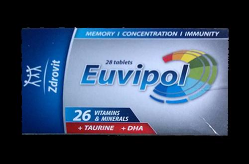 Thuốc euvipol là thuốc gì? có tác dụng gì? giá bao nhiêu tiền?