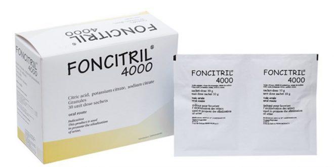 Thuốc foncitril 4000 là thuốc gì? có tác dụng gì? giá bao nhiêu tiền?