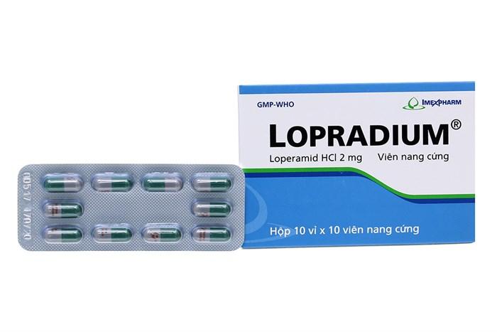 Thuốc lopradium 2mg là thuốc gì? có tác dụng gì? giá bao nhiêu tiền?