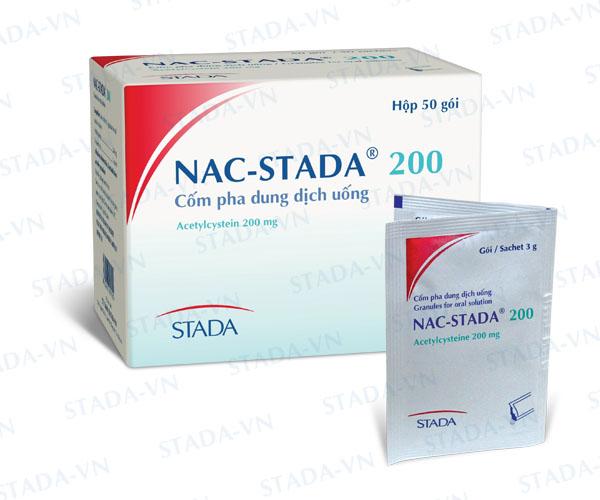 Thuốc nac stada 200 là thuốc gì? có tác dụng gì? giá bao nhiêu tiền?