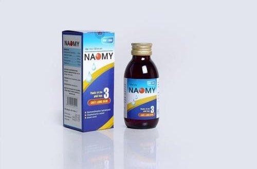 Thuốc naomy 120ml là thuốc gì? có tác dụng gì? giá bao nhiêu tiền?