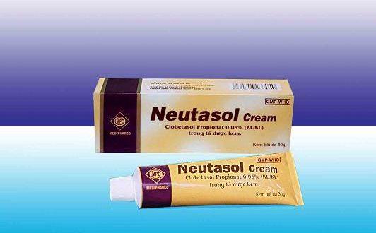 Thuốc neutasol 0.05% là thuốc gì? có tác dụng gì? giá bao nhiêu tiền?