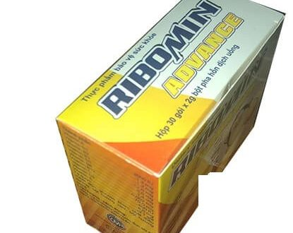 Thuốc ribomin advance là thuốc gì? có tác dụng gì? giá bao nhiêu tiền?