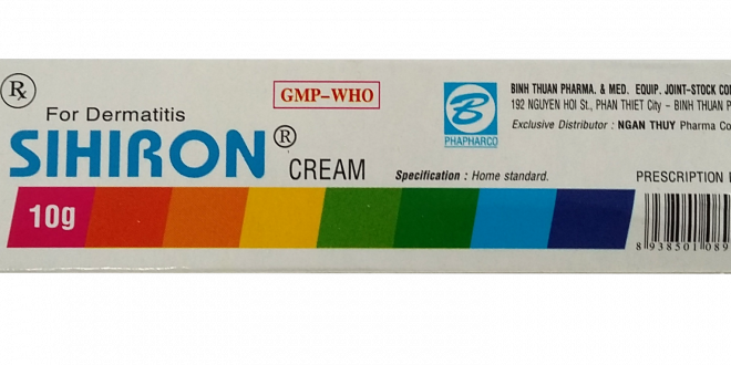 Thuốc sihiron cream là thuốc gì? có tác dụng gì? giá bao nhiêu tiền?