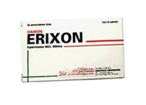 Thuốc Hawon erixon 50mg là thuốc gì? có tác dụng gì? giá bao nhiêu tiền?
