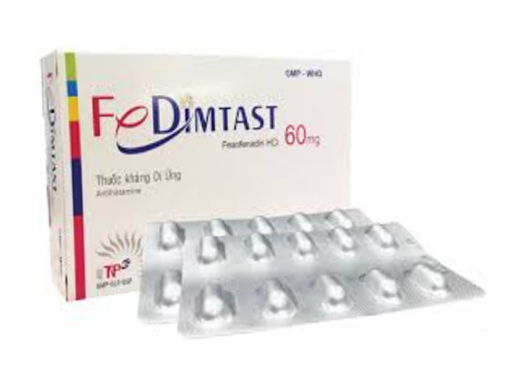 Thuốc fedimtast 60 là thuốc gì? có tác dụng gì? giá bao nhiêu tiền?