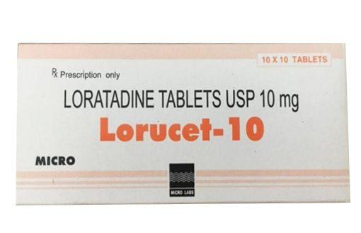 Thuốc lorucet 10 là thuốc gì? có tác dụng gì? giá bao nhiêu tiền?
