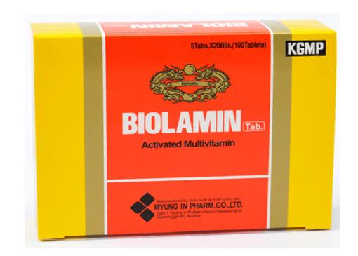 Thuốc biolamin tab là thuốc gì? có tác dụng gì? giá bao nhiêu tiền?
