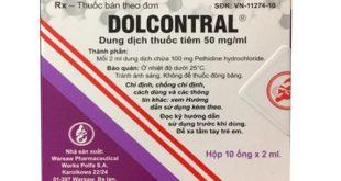 Thuốc Dolcontral 50mg/ml là thuốc gì? có tác dụng gì? giá bao nhiêu tiền?