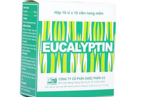Thuốc eucalyptin là thuốc gì? có tác dụng gì? giá bao nhiêu tiền?