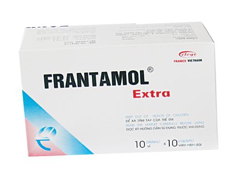 Thuốc frantamol extra là thuốc gì? có tác dụng gì? giá bao nhiêu tiền?