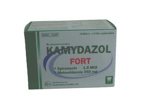 Thuốc kamydazol fort là thuốc gì? có tác dụng gì? giá bao nhiêu tiền?