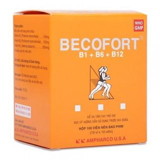 Thuốc becofort là thuốc gì? có tác dụng gì? giá bao nhiêu tiền?