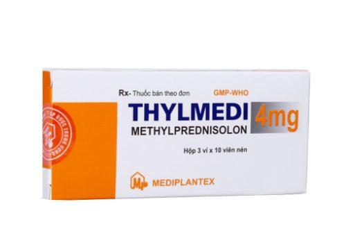 Thuốc thylmedi 4mg là thuốc gì? có tác dụng gì? giá bao nhiêu tiền?