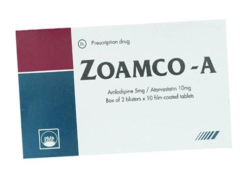 Thuốc zoamco-a là thuốc gì? có tác dụng gì? giá bao nhiêu tiền?