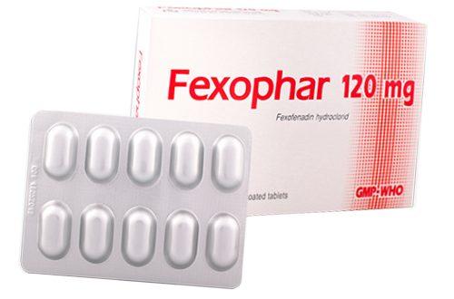 Thuốc fexophar 120mg là thuốc gì? có tác dụng gì? giá bao nhiêu tiền?