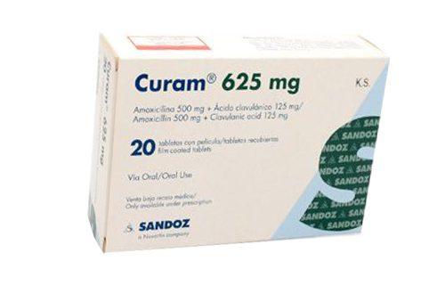 Thuốc curam 625 là thuốc gì? có tác dụng gì? giá bao nhiêu tiền?