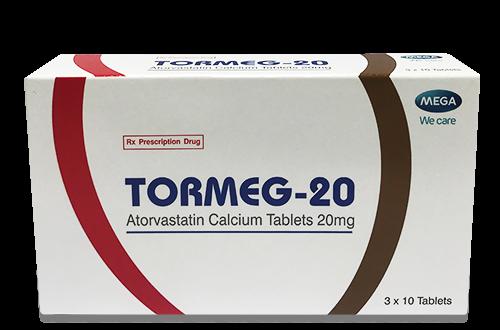 Thuốc tormeg 20 là thuốc gì? có tác dụng gì? giá bao nhiêu tiền?