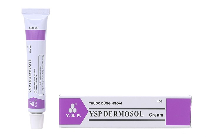 Thuốc ysp dermosol 10g là thuốc gì? có tác dụng gì? giá bao nhiêu tiền?