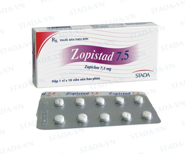 Thuốc zopistad 7,5mg là thuốc gì? có tác dụng gì? giá bao nhiêu tiền?