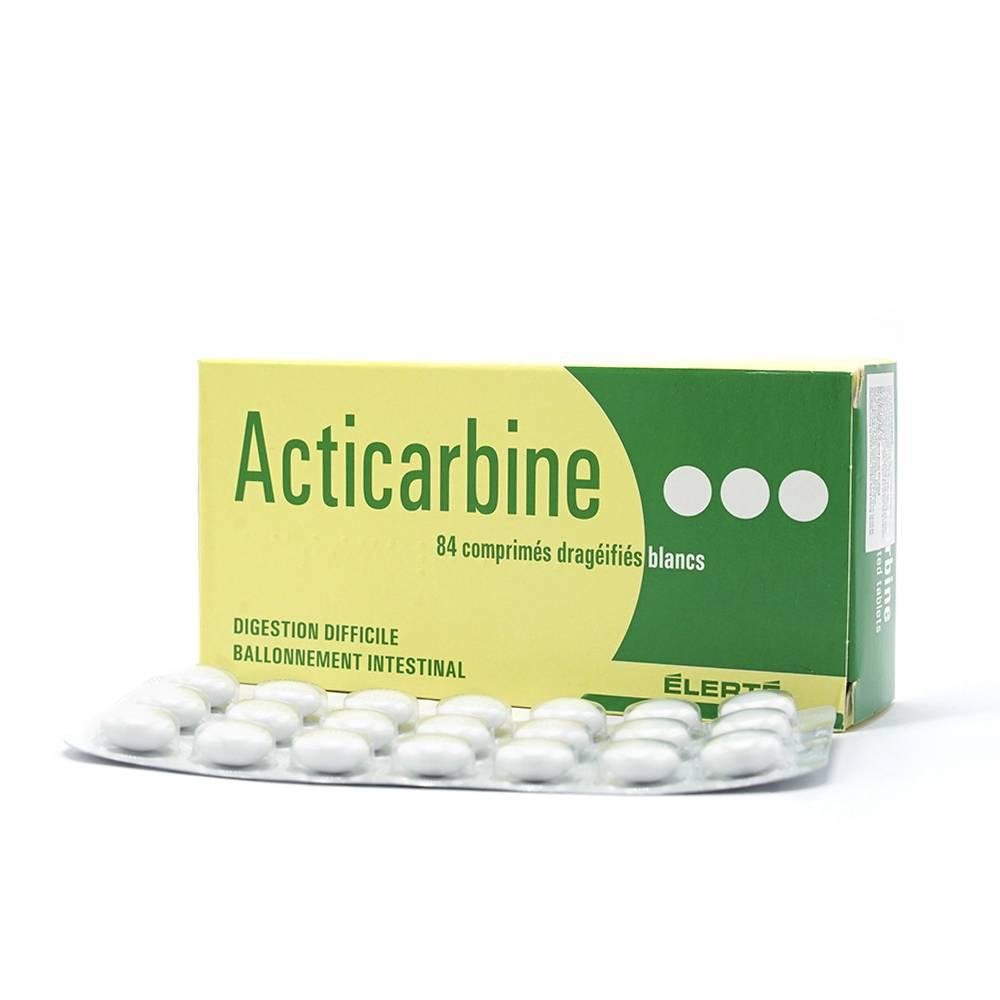 Thuốc acticarbine là thuốc gì? có tác dụng gì? giá bao nhiêu tiền?