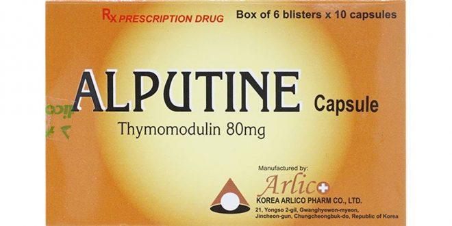 Thuốc Alputine Capsule 80 là thuốc gì? có tác dụng gì? giá bao nhiêu tiền?