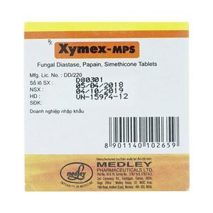 Thuốc xymex mps tablet là thuốc gì? có tác dụng gì? giá bao nhiêu tiền?