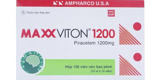 Thuốc maxxviton 1200 là thuốc gì? có tác dụng gì? giá bao nhiêu tiền?