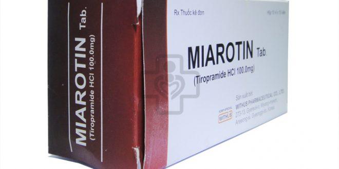 Thuốc miarotin 100 là thuốc gì? có tác dụng gì? giá bao nhiêu tiền?