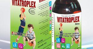 Siro vitatroplex là thuốc gì? có tác dụng gì? giá bao nhiêu tiền?
