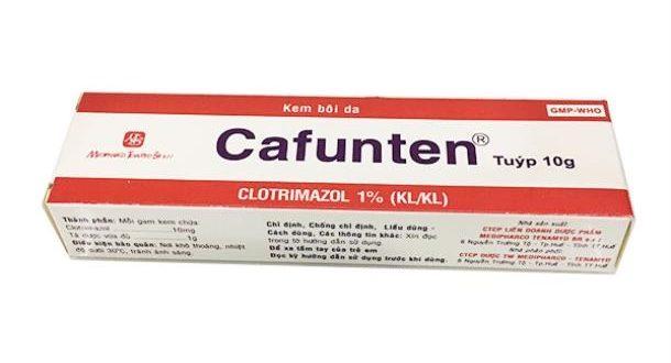 Thuốc cafunten 1% 10g là thuốc gì? có tác dụng gì? giá bao nhiêu tiền?