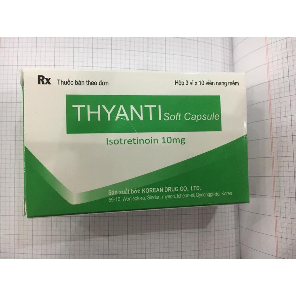 Thuốc Thyanti Soft Capsule là thuốc gì? có tác dụng gì? giá bao nhiêu tiền?