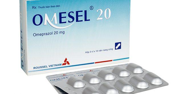 Thuốc omesel 20 là thuốc gì? có tác dụng gì? giá bao nhiêu tiền?