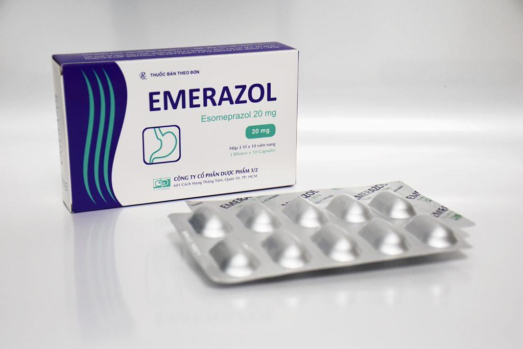 Thuốc emerazol 20 là thuốc gì? có tác dụng gì? giá bao nhiêu tiền?