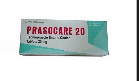 Thuốc prasocare 20 là thuốc gì? có tác dụng gì? giá bao nhiêu tiền?