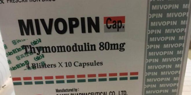 Thuốc mivopin 80 là thuốc gì? có tác dụng gì? giá bao nhiêu tiền?