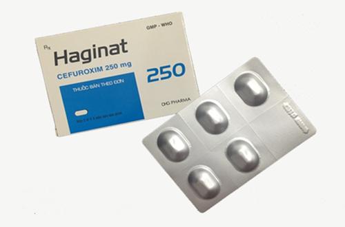 Thuốc haginat 250 là thuốc gì? có tác dụng gì? giá bao nhiêu tiền?
