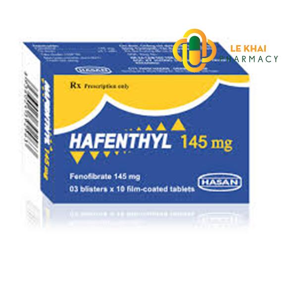 Thuốc hafenthyl 145mg là thuốc gì? có tác dụng gì? giá bao nhiêu tiền?