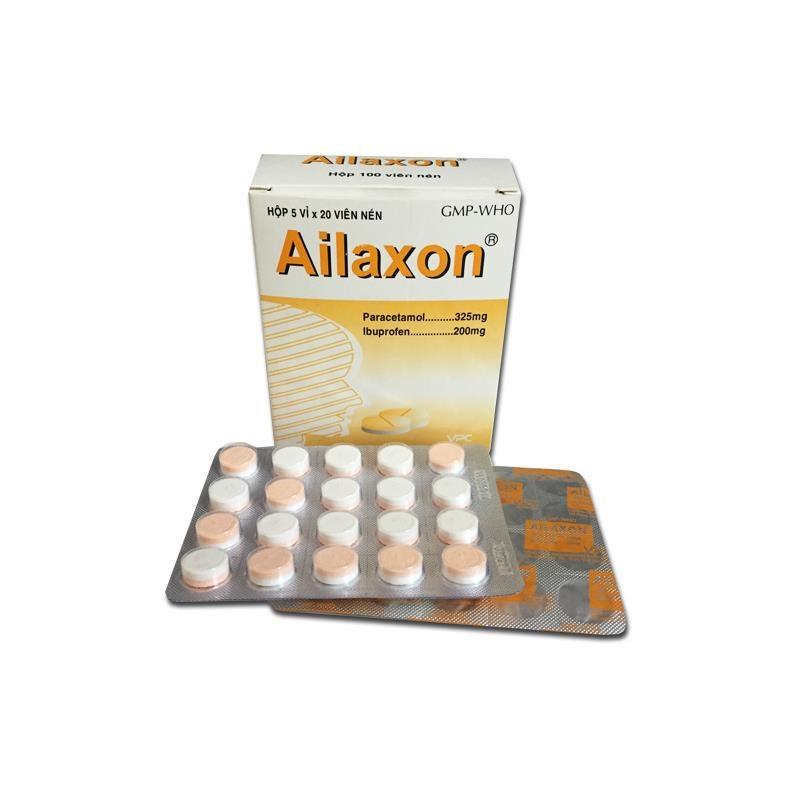 Thuốc ailaxon là thuốc gì? có tác dụng gì? giá bao nhiêu tiền?