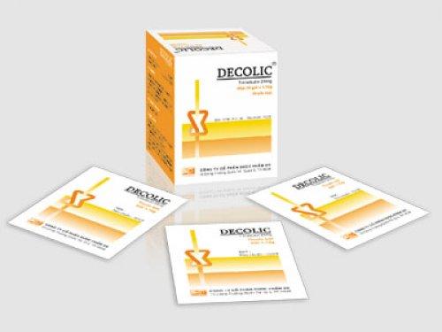 Thuốc decolic 24mg là thuốc gì? có tác dụng gì? giá bao nhiêu tiền?