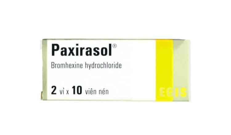 Thuốc paxirasol 8mg là thuốc gì? có tác dụng gì? giá bao nhiêu tiền?