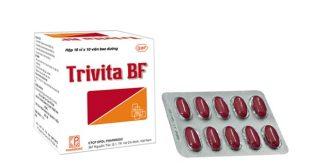 Thuốc trivita bf là thuốc gì? có tác dụng gì? giá bao nhiêu tiền?