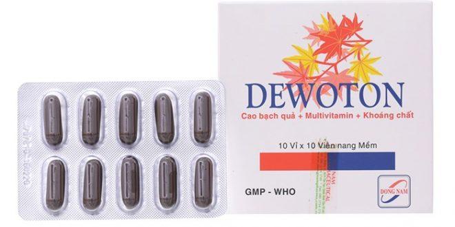 Thuốc dewoton 40mg là thuốc gì? có tác dụng gì? giá bao nhiêu tiền?