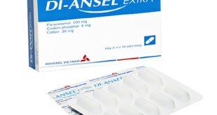 Thuốc di ansel extra là thuốc gì? có tác dụng gì? giá bao nhiêu tiền?