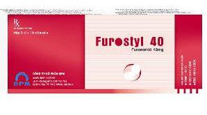Thuốc furostyl 40 là thuốc gì? có tác dụng gì? giá bao nhiêu tiền?